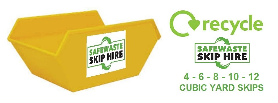 Skip hire by Safewaste Skip Hire for Runnymede, Elmbridge and Spelthorne areas plus surrounding towns